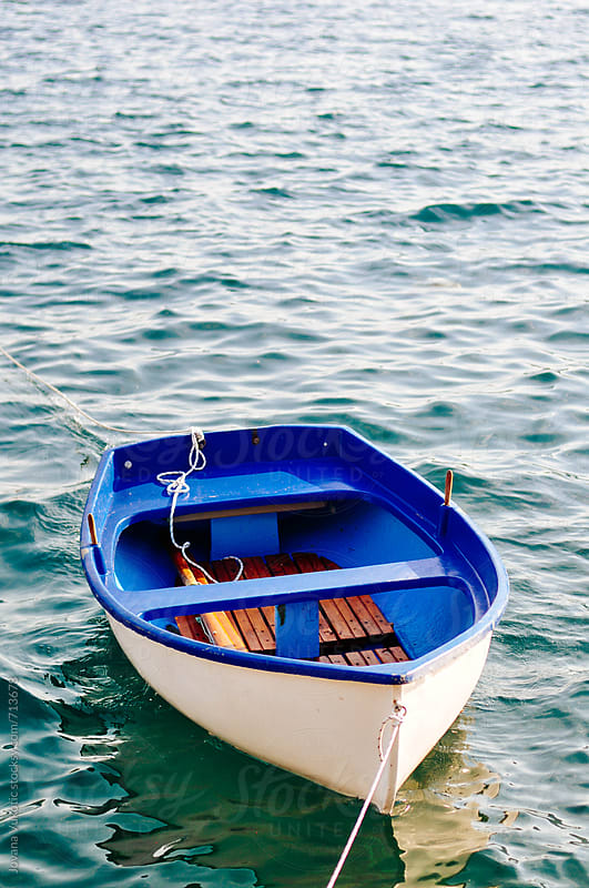 Boat on the water by Jovana Vukotic for Stocksy United