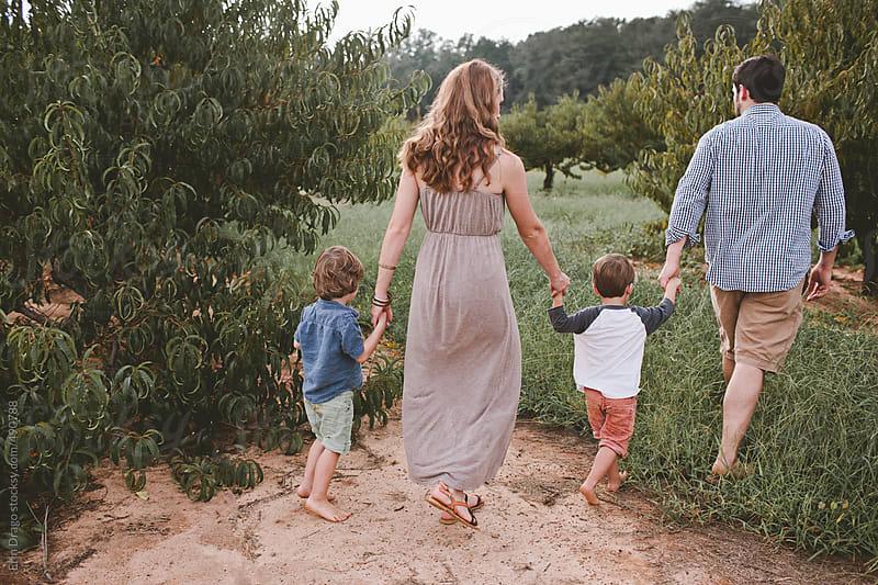 Family Walk by Erin Drago for Stocksy United
