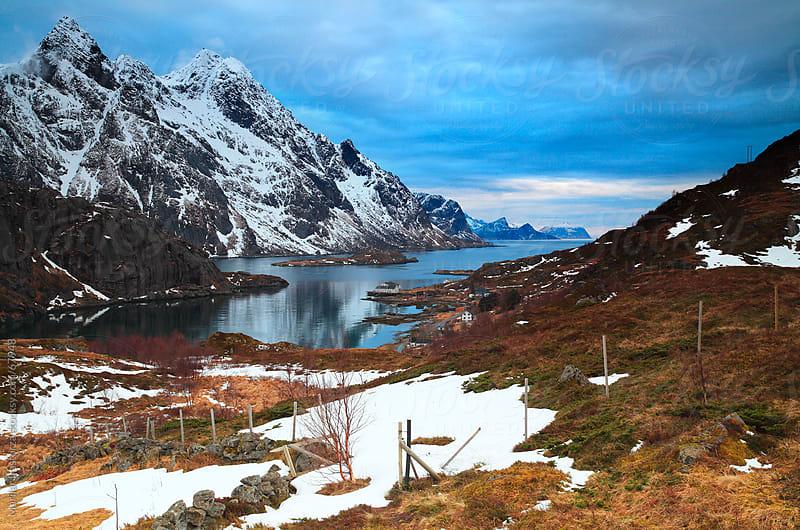 Traveling around Lofoten by Marilar Irastorza for Stocksy United