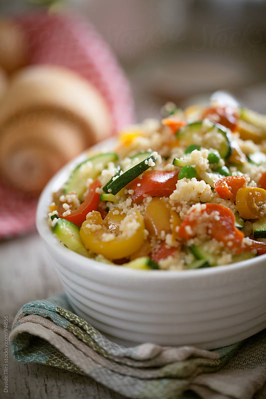 Vegetarian couscous  by Davide Illini for Stocksy United