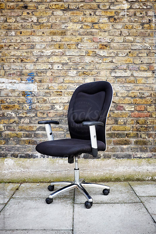 Abandoned Office Chair by James Ross for Stocksy United