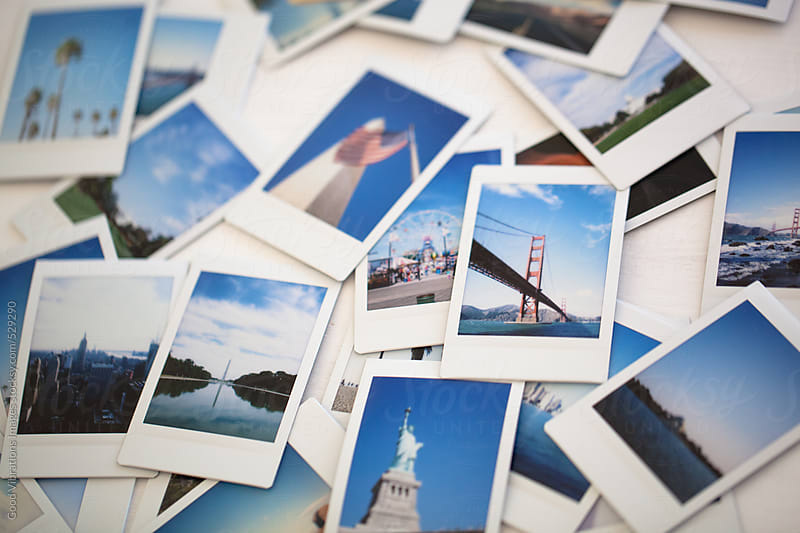 Printed pictures from America by Good Vibrations Images for Stocksy United