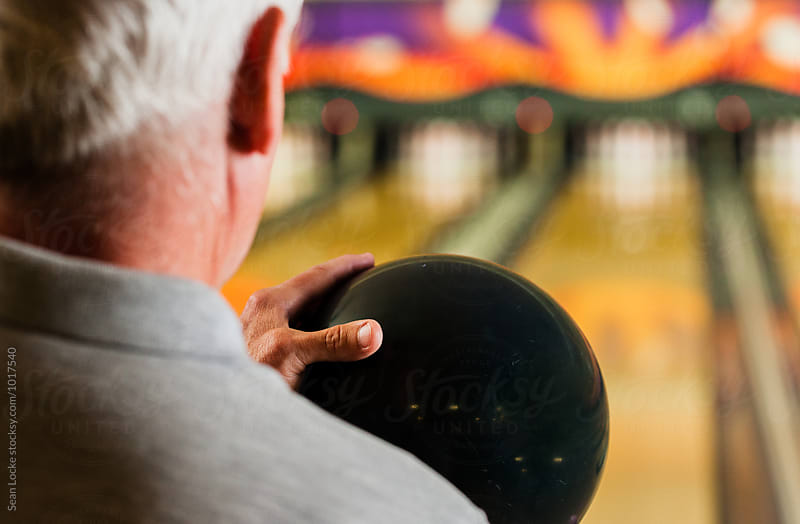 Bowling: Senior Male Ready To Bowl by Sean Locke for Stocksy United