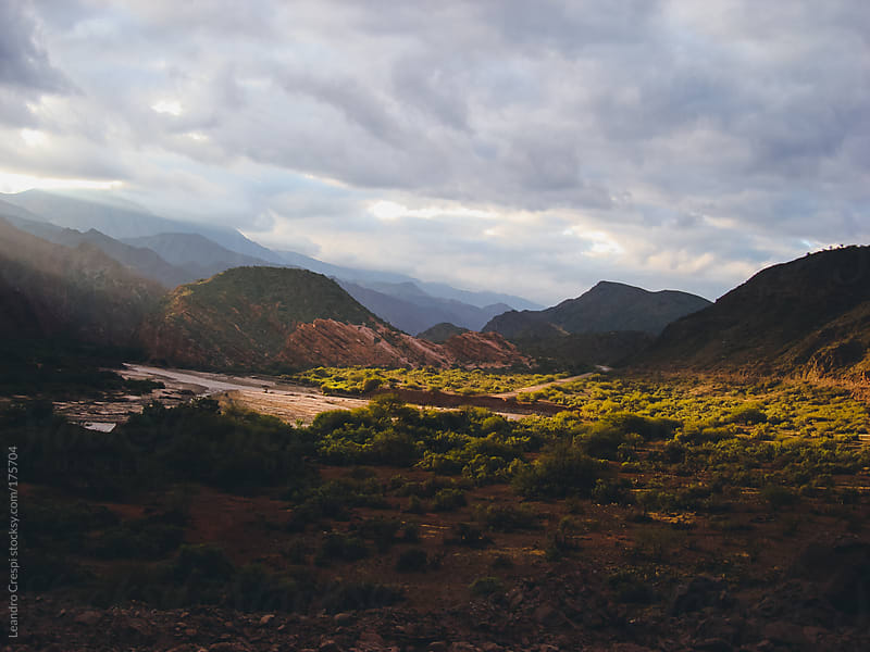 Landscape scene, North of Argentina, Jujuy by Leandro Crespi for Stocksy United