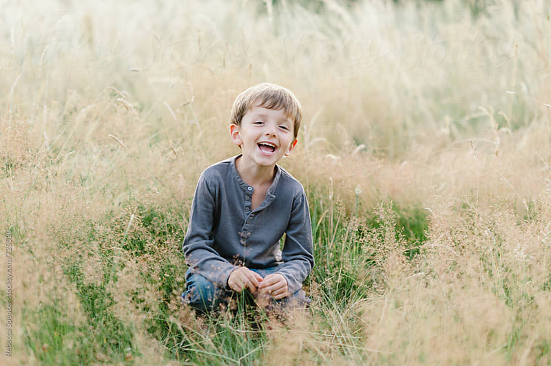 Summer fun in rural England by Rebecca Spencer for Stocksy United