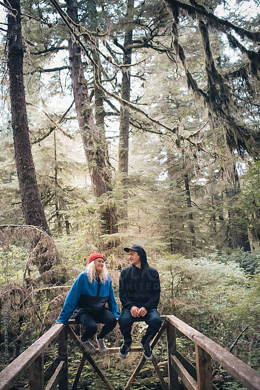 Friendship in the Forest by Helene Cyr for Stocksy United