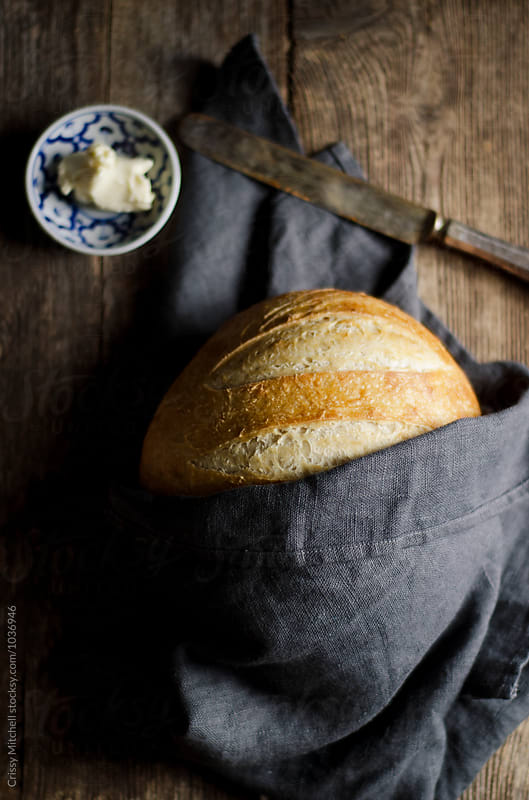 rye bread by Crissy Mitchell for Stocksy United