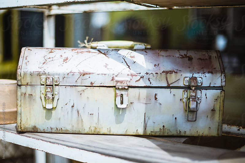 Rustic scratched toolbox by Image Supply Co for Stocksy United