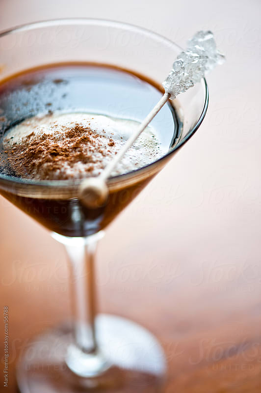 Chocolate Martini by Mark Fleming for Stocksy United