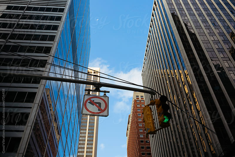 Downtown Manhattan during an early morning by Good Vibrations Images for Stocksy United