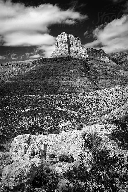 Guadalupe Mountains by Adam Nixon for Stocksy United