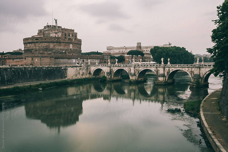 Castel Sant'Angelo in Rome, Italy. by Davide Illini for Stocksy United