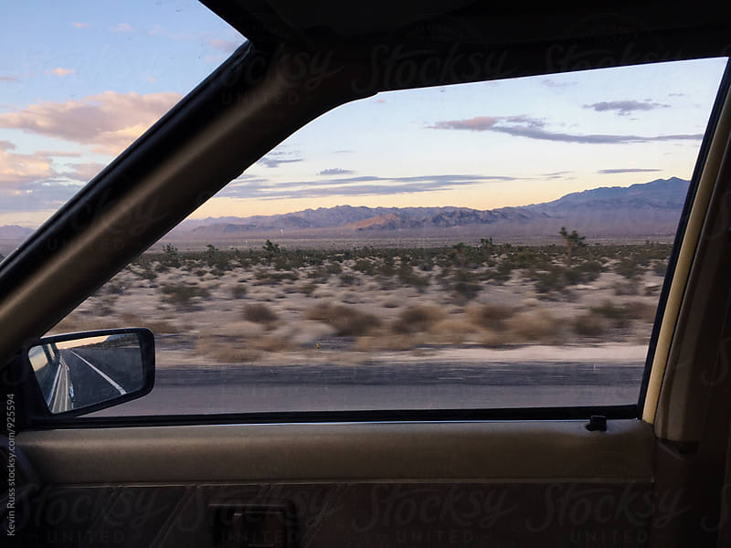 Out the Window and Into the Desert by Kevin Russ for Stocksy United