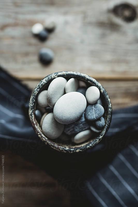 Pebbles by Tatjana Ristanic for Stocksy United