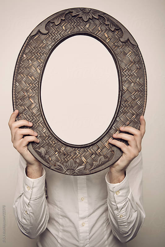 When you look in the mirror, what do you see? by B & J for Stocksy United