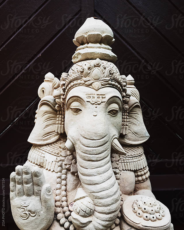 Ganesh Statue by ZOA PHOTO for Stocksy United