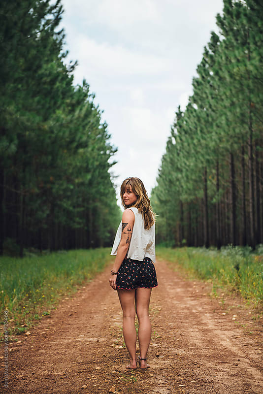 Forest Track Portraits by dom stuart for Stocksy United