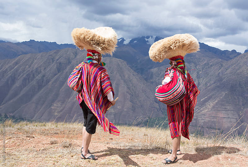 Traditional musicians, Cusco. Peru by Hugh Sitton for Stocksy United