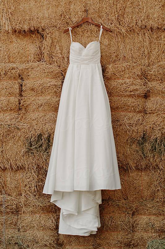 Wedding Dress  by Sidney Morgan for Stocksy United