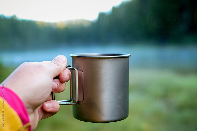 Outdoor Coffee by Aubrie LeGault for Stocksy United