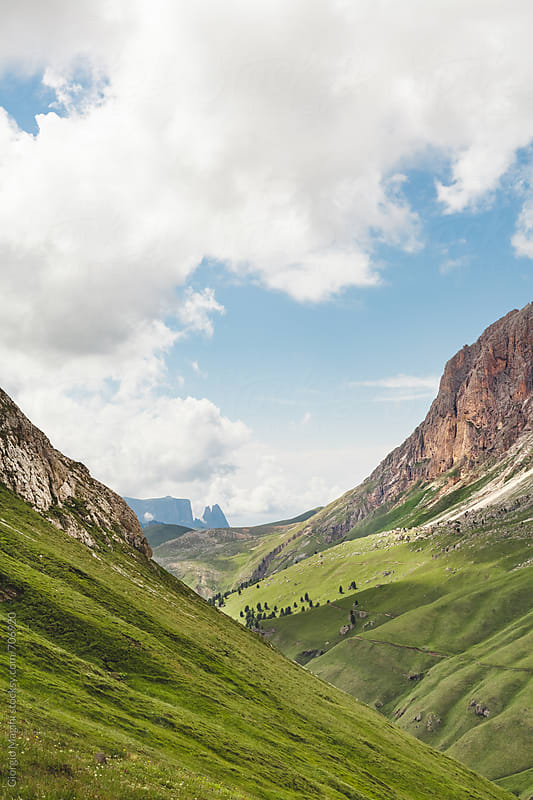Dolomite Mountains, Alpine Landscape in Italy by Giorgio Magini for Stocksy United