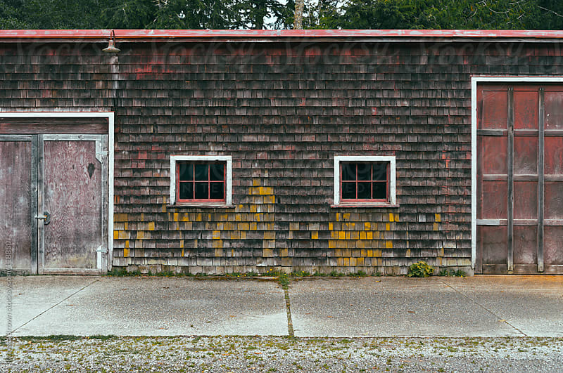 Weathered building by Richard Brown for Stocksy United