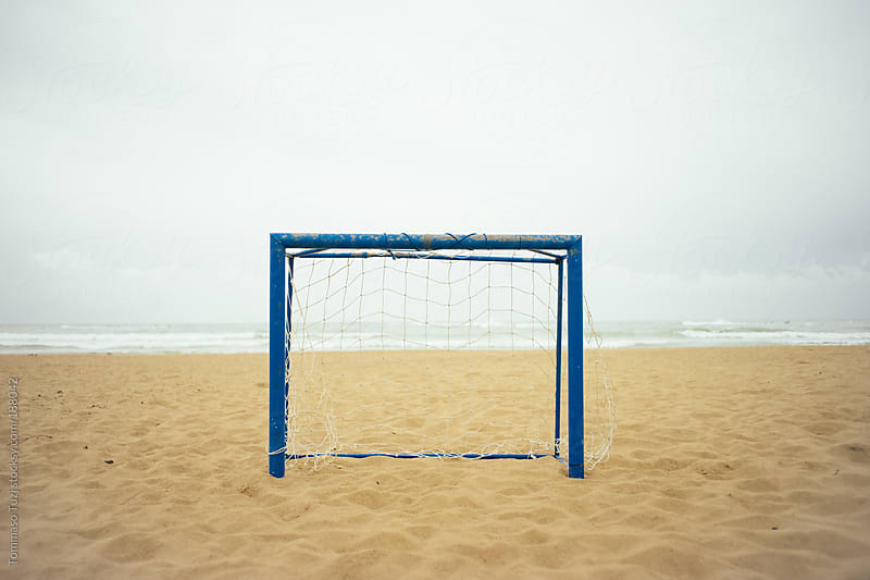 beach soccer by Tommaso Tuzj for Stocksy United