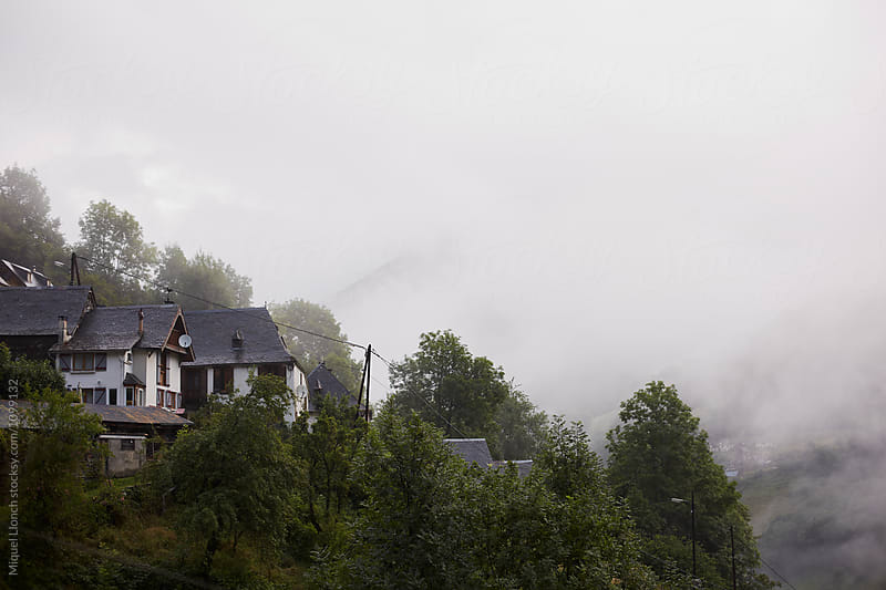 Small village in the Pyrenees mountains by Miquel Llonch for Stocksy United
