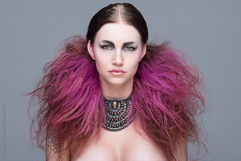 alternative hair by Andreas Gradin for Stocksy United