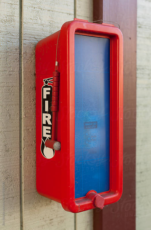 Fire Extingusher by JIm Bowie for Stocksy United
