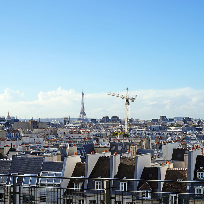 Overlooking Paris by Marcel for Stocksy United
