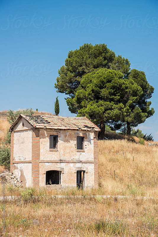 Abandoned house on the Andalusian countryside by Bisual Studio for Stocksy United