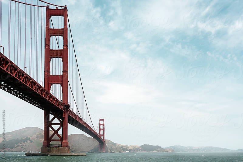 Scenic view of San Francisco's Golden Gate Bridge by Lilly Bloom for Stocksy United