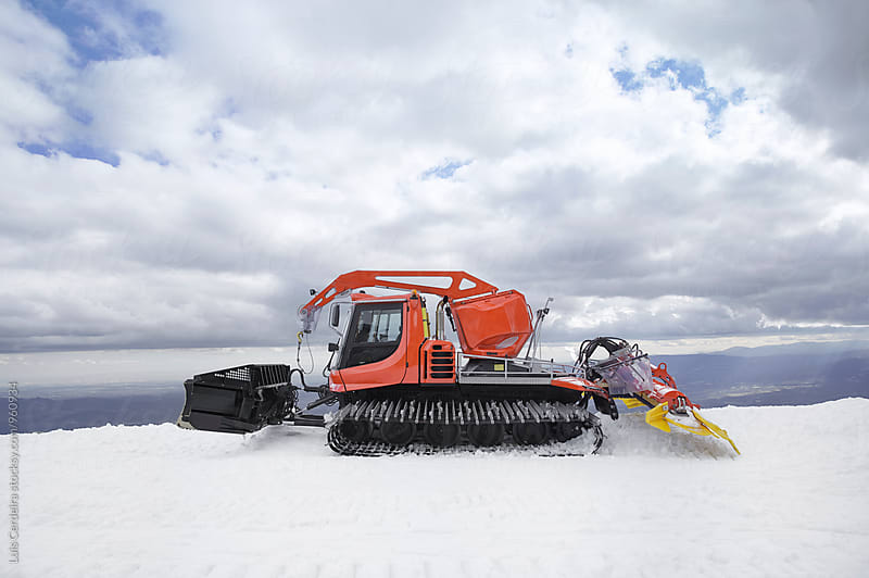 Snowplow by Luis Cerdeira for Stocksy United