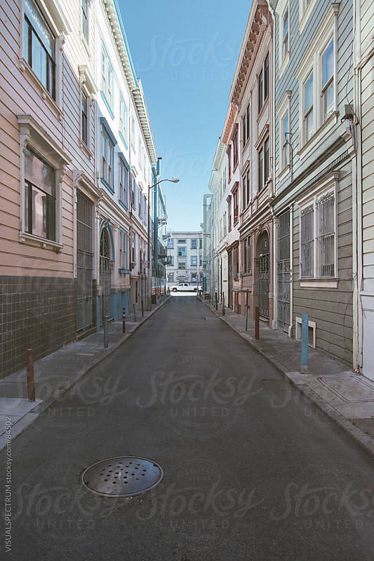 Colonial San Francisco Architecture by VISUALSPECTRUM for Stocksy United