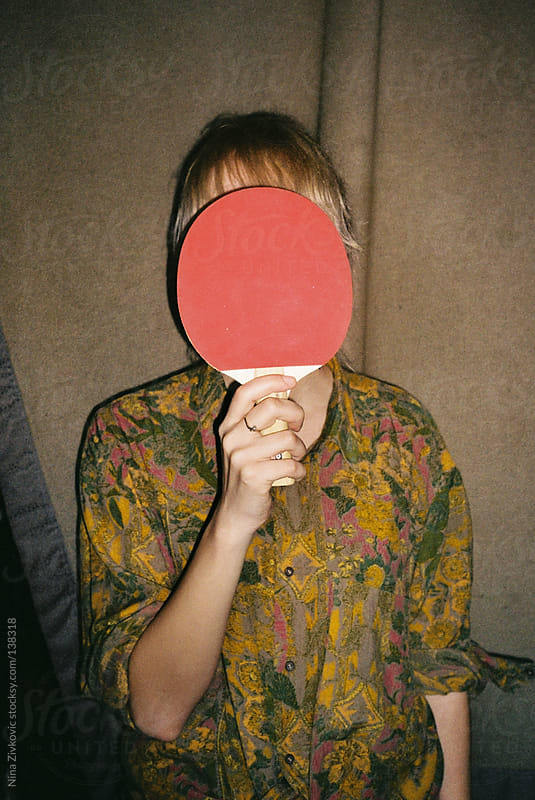 A girls night in a ping pong bar. by Nina Zivkovic for Stocksy United