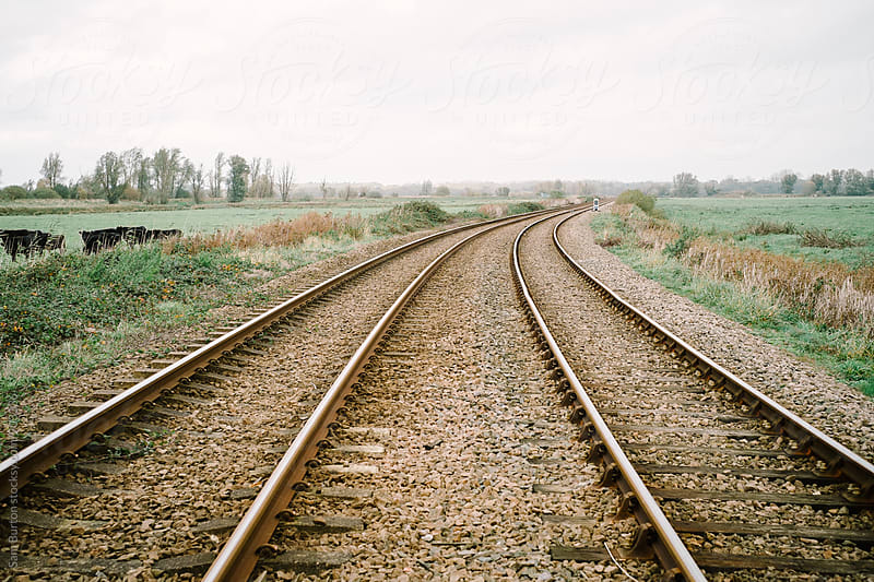 Train track  by Sam Burton for Stocksy United