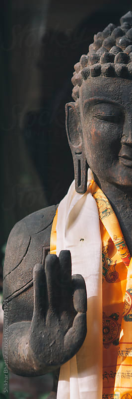 Statue of Buddha. by Shikhar Bhattarai for Stocksy United