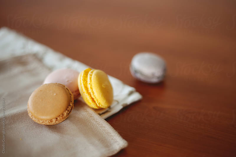 Sweet macarons by Claudia Guariglia for Stocksy United