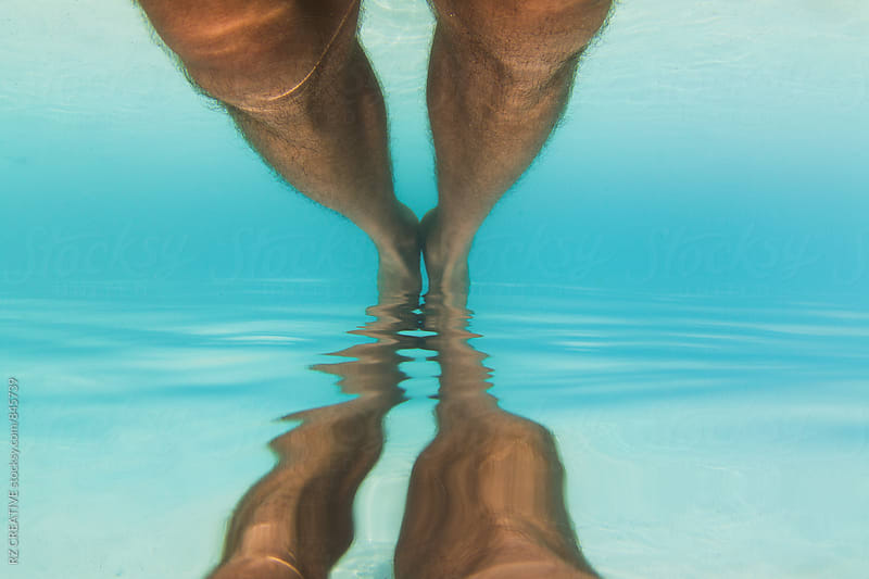 Under water reflection. by RZ CREATIVE for Stocksy United
