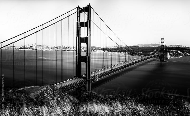 Long Exposure photograph of the Golden Gate Bridge by Thomas Hawk for Stocksy United