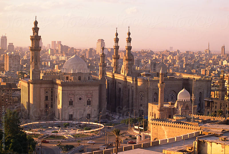 Sultan Hassan Mosque. Cairo by Hugh Sitton for Stocksy United