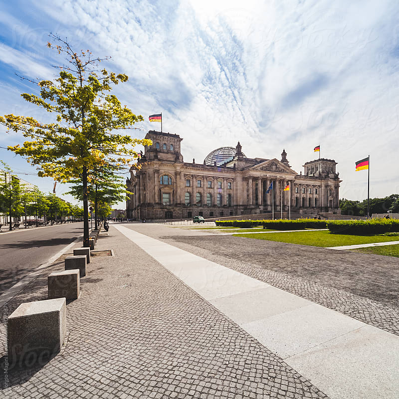 The Reichstag, German Parliament in Berlin by Giorgio Magini for Stocksy United