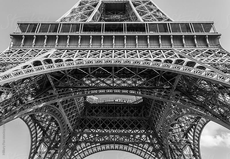 The Eiffel Tower by Hillary Fox for Stocksy United
