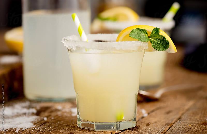 Lemon Cocktail by Jeff Wasserman for Stocksy United