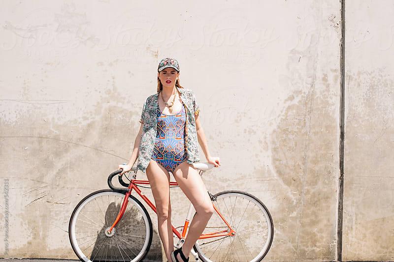 Bike Fashion Shoot by Puno Puno for Stocksy United