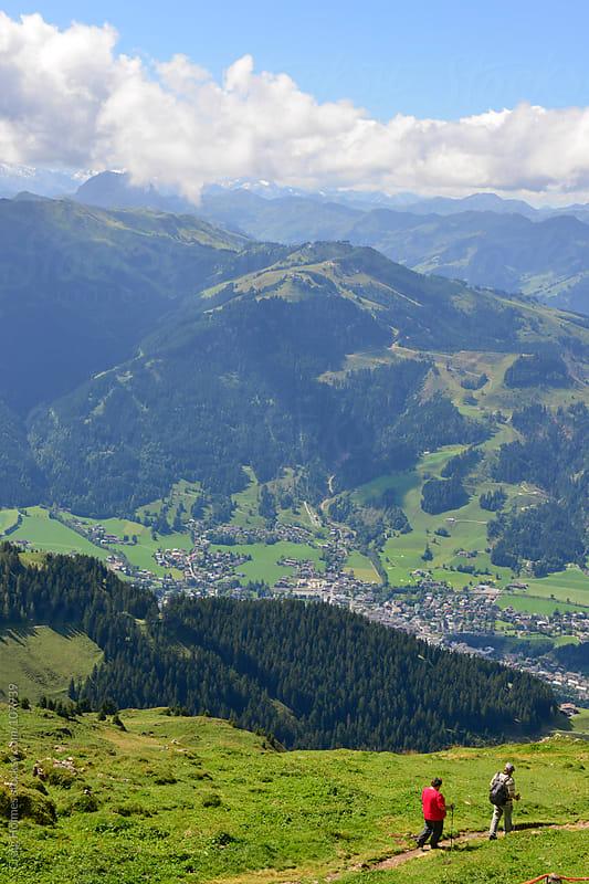 Kitzbüheler Horn mountain, Austria by Craig Holmes for Stocksy United