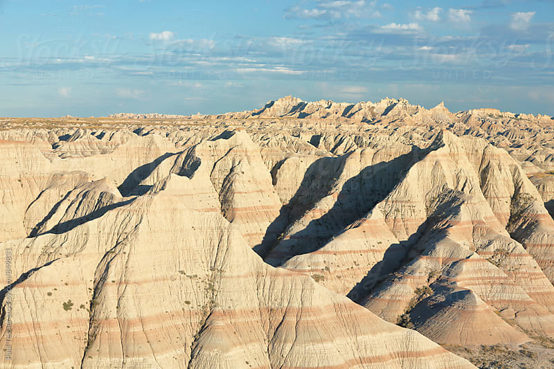 Badlands Formations by Paul Tessier for Stocksy United