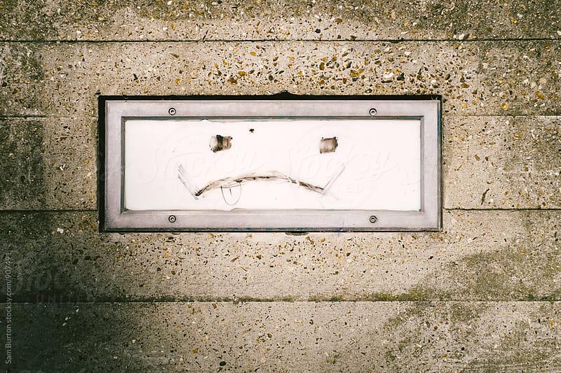 Drawn face by Sam Burton for Stocksy United