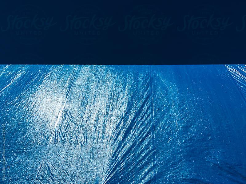 Blue tarp by Paul Edmondson for Stocksy United